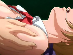 Hentai Maid with soft titties got ass filled by Nappa