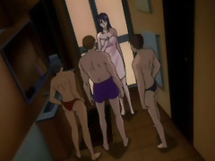 Angry Asuka Langley Soryu gets gangbang and bombed