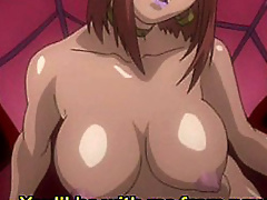 Kino Asakura gets fucked in all holes and gets cum on her lips