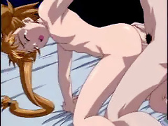 Moondoggie strips to show her body and reaches climax