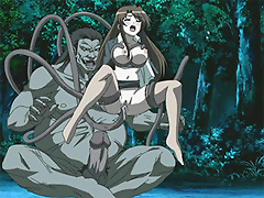 Anime mistress gets stripped and filled hardly